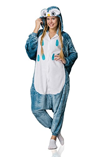 Nothing But Love Adult Owl Onesie Pajamas Kigurumi