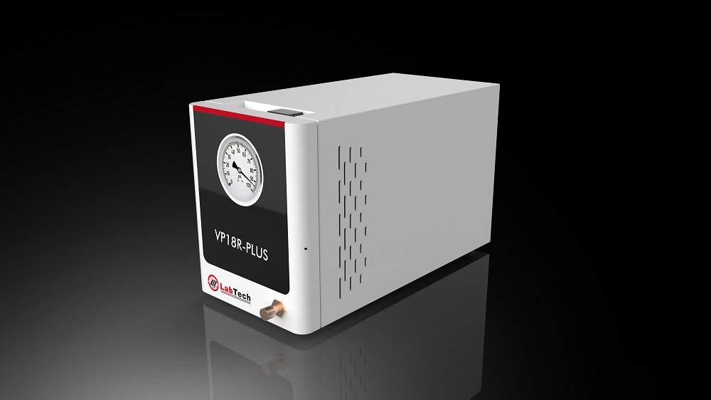 Vacuum Pump with Built-in Regulator for Rotary Evaporator or Distillation Apparatus, Model VP18R Plus