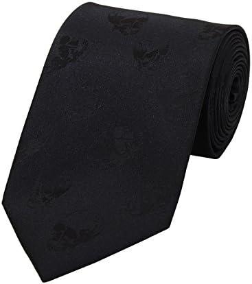 Corbata de Fabio Farini en negro con calaveras: Amazon.es: Ropa y ...
