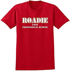 Music Notation Roadie Humper - Red Rot T Shirt Größe 87cm 36in Small MusicaliTee