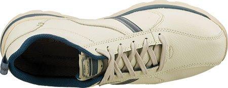 Skechers SuperiorLevoy - Zapatillas de piel para hombre, White