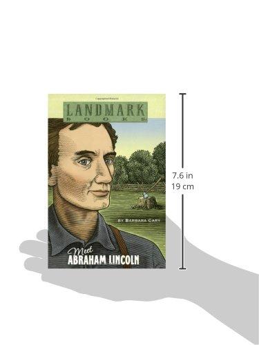 Meet Abraham Lincoln (Landmark Books) Photo #2