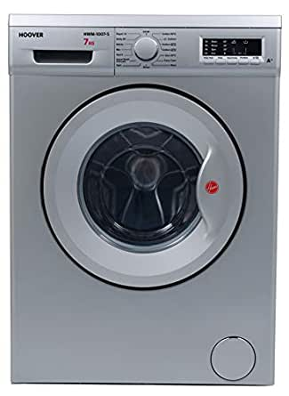 Hoover Washing Machine 7Kg, 1000 RPM, Silve, HWM-1007-S