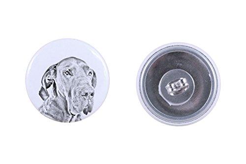 Great Dane, earrings with a dog (Great Dane Dog Earrings)