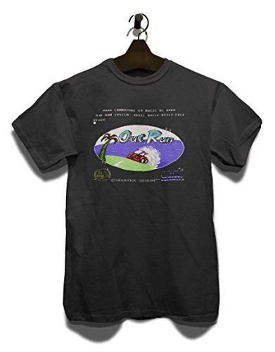 Taglie Colori Grigio Diversi Outrun Scuro shirt T 4xqZw6IAO6