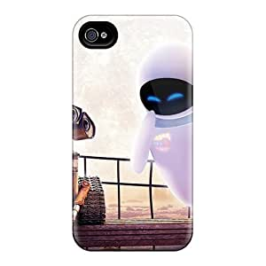 Protection Case For Iphone 4/4s / Case Cover For Iphone(wall E Eve)