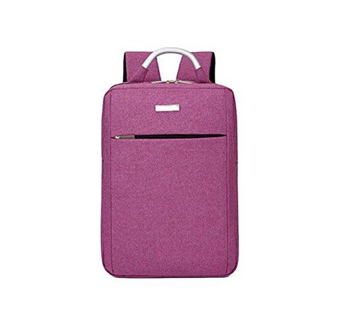 Los Hombres Paquete Bolsa Pueden Simple Las Bolsa De Purple Ordenador Hombro Bolsa De Ocio De Ocio De Gran De Capacidad Mochila Y Mujeres CAnpdqC