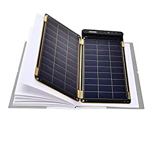 YOLK YKSP 5W Solar Paper, World's Thinnest and Lightest Portable Solar Charger, Ultra High Efficiency