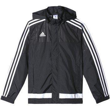 Price comparison product image adidas Youth Tiro 15 Rain Jacket (Black/White) (M
