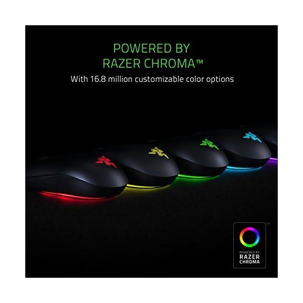 Razer Abyssus Essential: True 7,200 DPI Optical Sensor - 3 Hyperesponse Buttons - Powered by Razer Chroma - Ambidextrous…