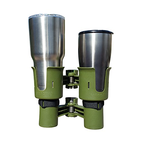 ROBOCUP OLIVE, UPDATED VERSION, Best Cup Holder for Drinks, Fishing Rod/Pole, Boat, Beach Chair/Golf Cart/Wheelchair/Walker/Drum Sticks