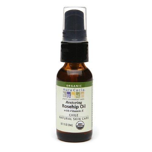 Aura Cacia Organic Skin Care Oil, Restoring Rosehip1 fl oz