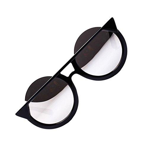 Soleil De 1pcs Style De Homme Femme blanc Accessoires Rétro de Lunettes Yeux argent Sharplace Protecteur qBtfwxUgq