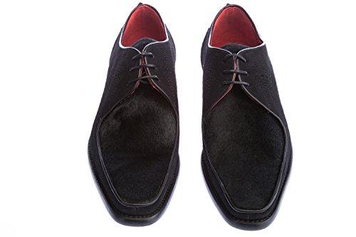 Jeffery West Melly Devil Ray Shoe in Black Pony
