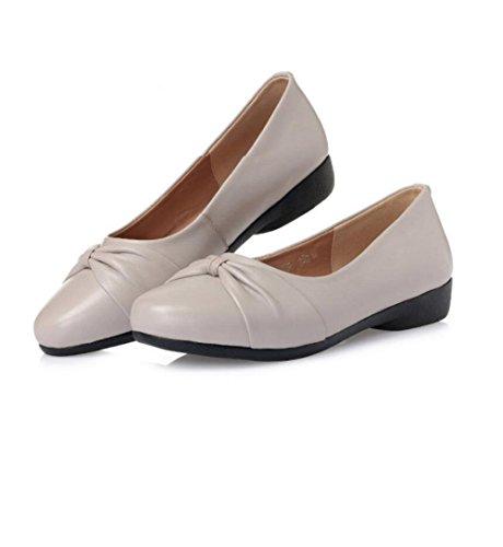 Casuales de Los Zapatos la Edad Tamaño de de Mujeres Parte Inferior Calzan Antideslizante Grande el Zapatos la de Suave Cómodos Cómodos Mediana Las Madre U88wqdr
