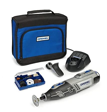 Dremel 8200 Outil rotatif multifonctions + Housse 35 Accessoires 2 batteries Li-Ion Robert Bosch France (FR DIY) F0138200KG