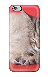 Excellent Iphone 6 Plus Case Tpu Cover Back Skin Protector Cat And Dog