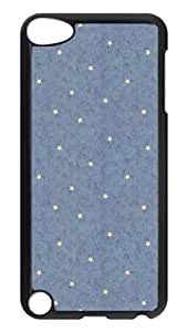 Brian114 Case, iPod Touch 5 Case, iPod Touch 5th Case Cover, Blue Stars Retro Protective Hard PC Back Case for iPod Touch 5 ( Black )