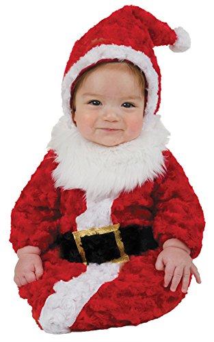BESTPR1CE Baby Halloween Costume-Santa Baby Bunting Costume 0-6 Months -