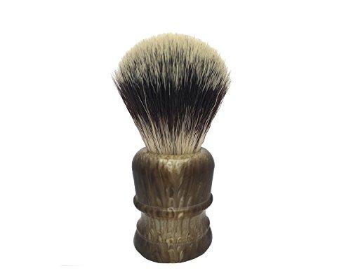 Shaving Brush, QSH Synthetic Brush Hair Knot with Engineered Imported Acrylic Handle Shaving Brush for Safety Razor, Double Edge Razor, Shaving Razor