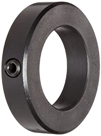 Ruland Msc 5 F Set Screw Shaft Collar Black Oxide Steel