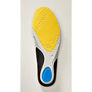Premium Baseball Insoles (Boys 5.5-7 / Girls 6.5-8) (1-Pair): Best Kid's Shoe Insert for Heel, Knee, Foot Support To Relieve, Reduce Pain From Severs and OsGood Schlatters Disease. Guarantee!