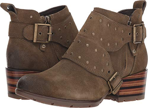 - Caterpillar Women's Anna Rose Ankle Boot, Olive, 9.5 M US
