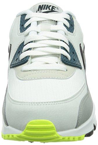 Nike Scarpe Da Ginnastica Air Max 90 Essential Uomo Bianco weiß white black Pine-lite Base Grey