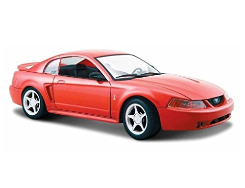 Ford Mustang Cobra Model (NEW 1:24 DISPLAY MAISTO SPECIAL EDITION - RED 1999 FORD COBRA MUSTANG Diecast Model Car By Maisto)