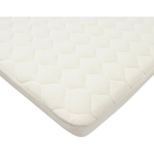 American Baby Company Fitted Organic Bassinet Quilted Pad & Mattress Pad Cover by American Baby Company
