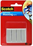 Scotch Adhesive Putty, Removable, 1-Ounce (861)