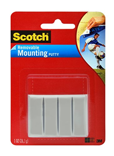 Scotch Adhesive Putty, Removable, 1-Ounce (861) ()