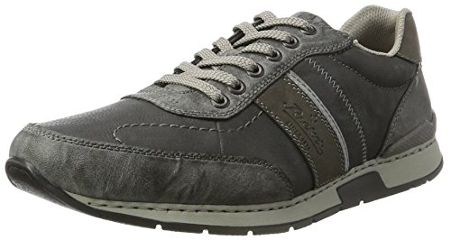 Rieker Men's 19411 Trainers Grey (Graphit/Rauch/Graphit 45) free shipping for sale dv2fANlWa