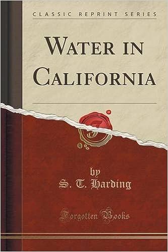 Water in California (Classic Reprint)