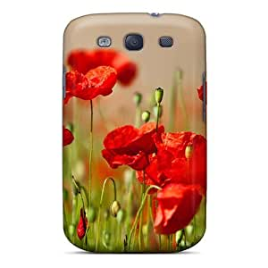 Mialisabblake Premium Protective Hard Case For Galaxy S3- Nice Design - Cute Flower Field by icecream design