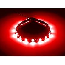 CableMod WideBeam Magnetic LED Strip Red - 30cm / 15 LEDs (CM-LED-15-M30KR-R)