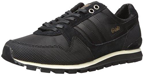 Gola Men's Ridgerunner Ii Fashion Sneaker, Black/Black, 12 UK/13 M US