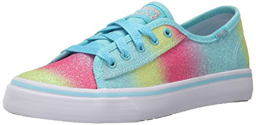 Keds Double Up Sneaker (Little Kid/Big Kid), Turq Fade Sugar Dip, 13 M US Little Kid by Keds