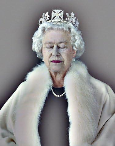 """Queen Elizabeth II  13 x 19/"""" Photo Print"""