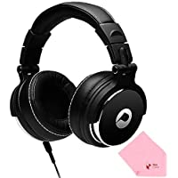 Full Power HF-01 Noise-Cancelling High Definition Stereo Wired Headphone (Comes W/ BoxCave Microfiber Cleaning Cloth)