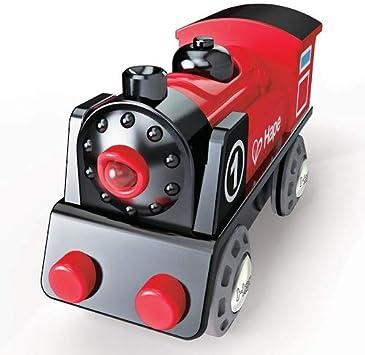 Holzeisenbahn Mini-Eisenbahn 11cm Lokomotive Lok NEU