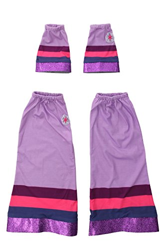 My Little Pony Twilight Sparkle Adult Costumes (Elope My Little Pony Twilight Sparkle Arm and Leg Hoofwarmer Costume Accessory Set)