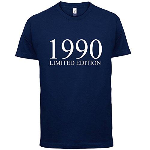 1990 Limierte Auflage / Limited Edition - 27. Geburtstag - Herren T-Shirt - Navy - XXL