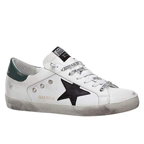 Golden-Goose-Deluxe-Brand-Superstar-WhiteGreen-Leather-Mens-Sneaker-G36MS590T87