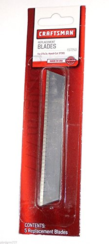 Craftsman 9-37253 Handi-Cut Knife Blade, 5-pack Genuine Original Equipment Manufacturer (OEM) Part (Craftsman Handi Cut)