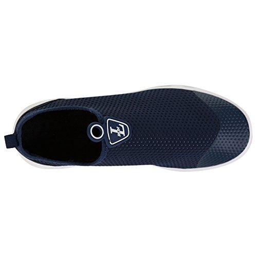 Outdoor Shoes RUN Shoes Women's Drying Athletic on Quick Slip L Water Aqua Mesh Navy 7HI4dqqP