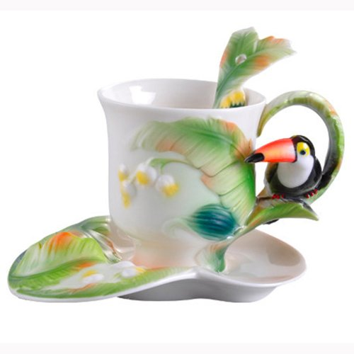 toucan coffee cup - 3