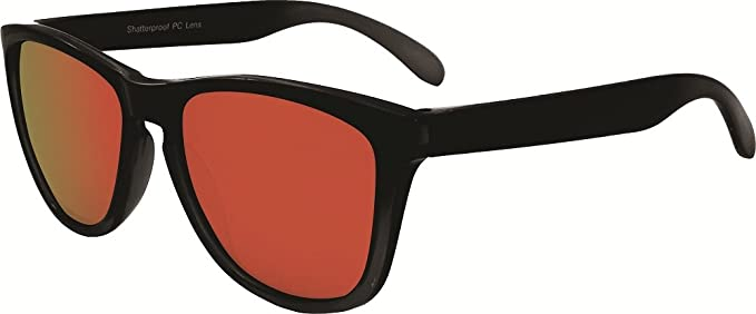 36d904c8ff61 Image Unavailable. Image not available for. Colour: Chili's Eye Gear RAIL Polarized  Sport M71605 Shatterproof Sunglasses