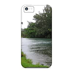 Forever Collectibles Icepond C The Fishing Hole Hard Snap-on Iphone 5c Case