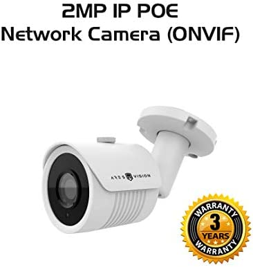 Ares Vision 2MP IP Network POE 3.6MM Bullet CCTV Camera, Sony Lens Board w IR Night Vision